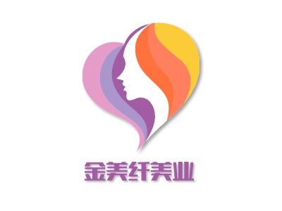 金美纤美业门店logo