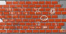 教你用Fireworks教程教你制作红墙砖头效果 并在上面涂鸦