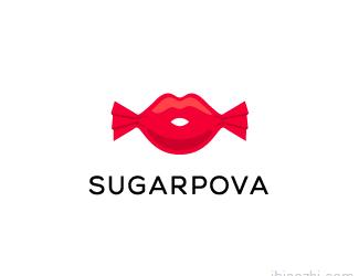 Sugarpova标志LOGO