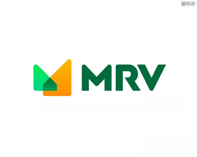 巴西最大地产开发商和建筑巨头MRV 标志设计