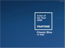 潘通公布2020年度色彩经典蓝