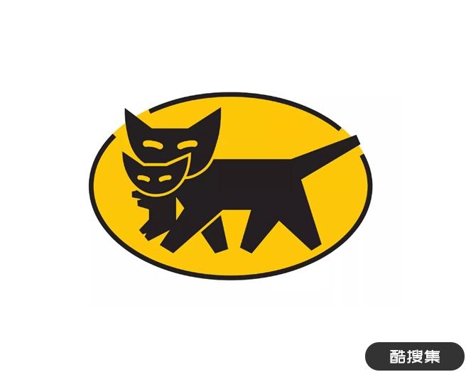日本最大的上门送货服务公司大和运输(YAMATO )标志设计