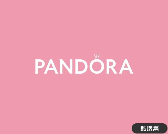 珠宝品牌潘多拉Pandora 标志设计