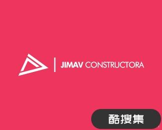 JIMAV建筑公司标志设计