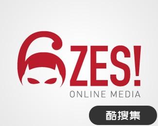ZES网络媒体标志