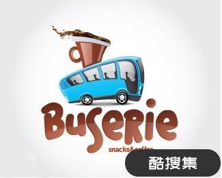 Buserie咖啡厅标志