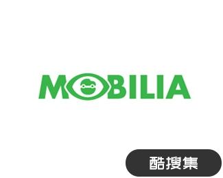 Mobilia汽车广告标志
