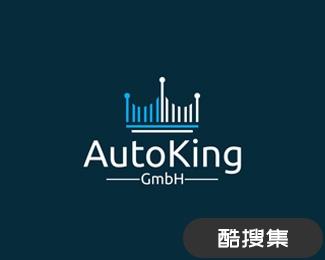 Autoking汽车销售商标志
