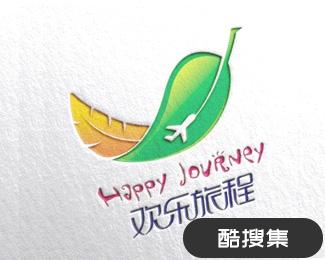 欢乐旅程旅游行业标志设计设计