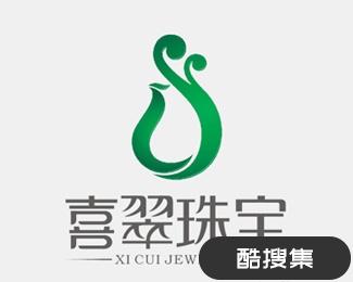 喜翠珠宝logo