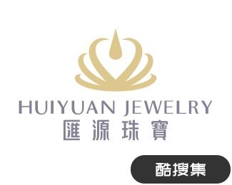 汇源珠宝标志设计
