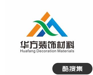 华方建材装饰材料公司logo