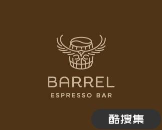 桶咖啡标志