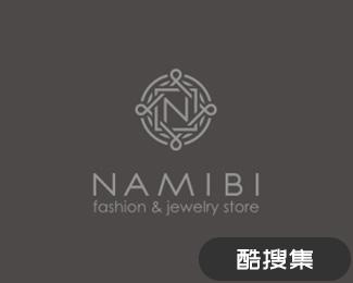 Namibi珠宝店logo