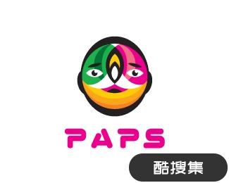 PAPS科技研究工作室标志设计