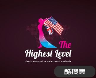 国际语言学校标志设计