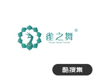 孔雀舞PAVAN家居品牌标志设计