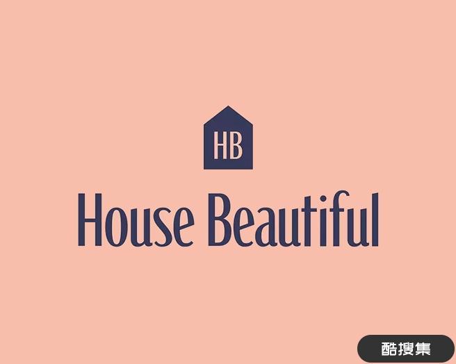 英国室内家装设计杂志《House Beautiful》品牌标志设计