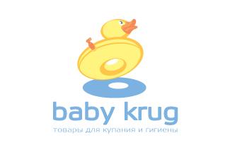 babykrug婴儿沐浴用品标志LOGO