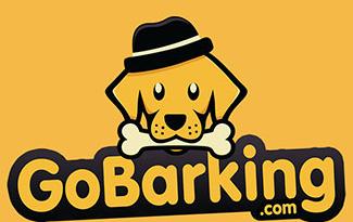 GoBarking宠物店标志LOGO