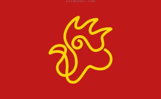 公鸡标志设计