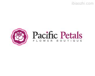 太平洋花瓣标志LOGO