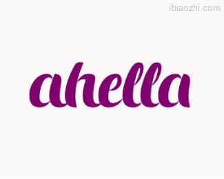 ahella标志LOGO